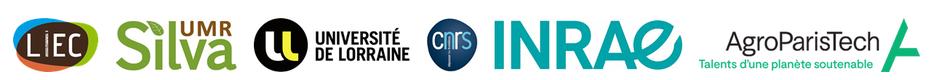 Logo des organismes co-organisateurs (Inra, CNRS, AgroParisTech, Université de Lorraine)