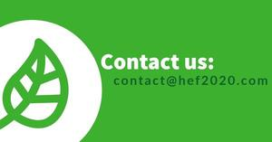 Contact us by email: contact@hef2020.com