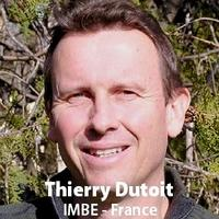 Portrait of Thierry Dutoit of the IMBE, France. First Keynote speaker (c) IMBE