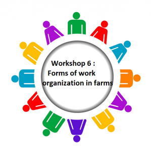Workshop 6 : Forms of work organization in farms